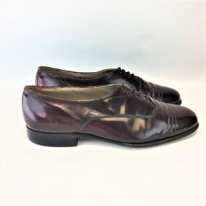 JOHNSTON & MURPHY ARISTOCRAFT 9.5M Derby Burgundy